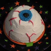 Eyeball Cake   Halloween theme smash cake!