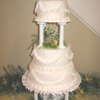 Replica Of Couple's Wedding Cake