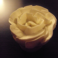 Smbc Rose vanilla cupcake with smbc rose