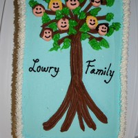 Family Tree Not the cutest cake I have made but one of my first so I had to add it.