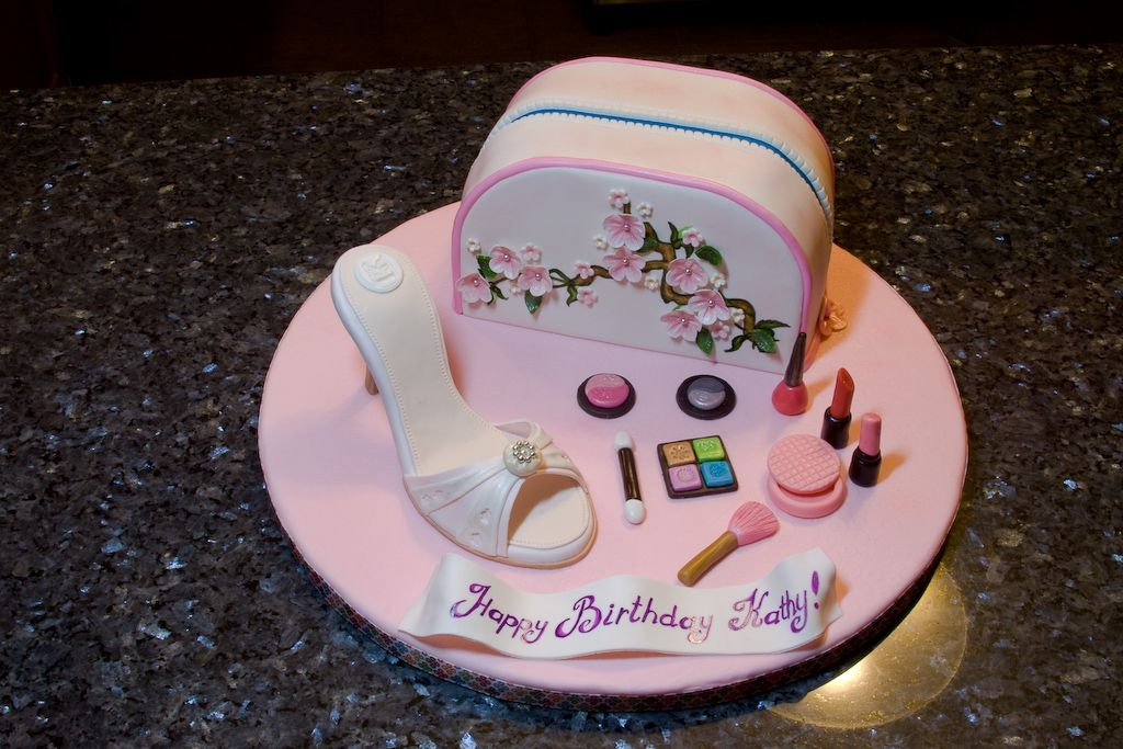 Fashion Birthday Cake