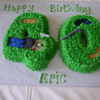 Golf Themed 40Th Birthday Made for someone who loves reggae music so they requested the figure have dredlocks. He was turning 40 and loves golf. The sand pit is...