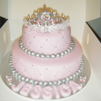 Disney Princess Birthday Cake I made this cake for a friends daughters 2nd Birthday. She loved it :)