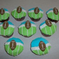 Football Cupcakes These are cupcakes from Wilton's site.