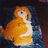 The Cat This cat was supposed to be a duplicate of a story book that she loved and it was her request to have a cake like the cat in her book. This...