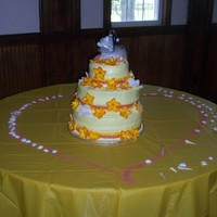 Orange And Yellow Wedding