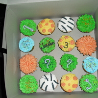 Animal Cupcake   animal themed cupcakes