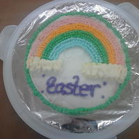 Wilton Cake   Ist ever cake wilton class rainbow cake