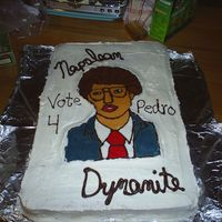 Napoleon Dynamite This was my first BCT cake. I thought it turned out ok. It took me a lot longer to do then I thought, but it is for my church's youth...
