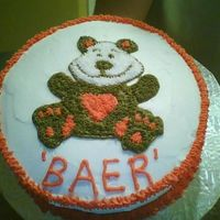 124977327115144.jpg I made this cake for the Wilton Course 1, Class 2 cake and used my friend's last name!
