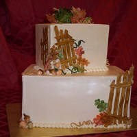Tall Fall   Dummy cake for the season. TFL