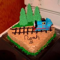 Thomas Cake made this one for my youngest son.