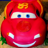 Llighting Mcqueen, My First Fondant/sculpted Cake. Let me give you a brief explanation. I used to decorate cakes back in the 80's. Never really got great at it, life got in the way and...