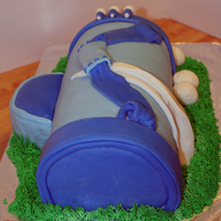Dave's Bday Cake I saw the cutest golf bag here by Surina and thought it would be a perfect cake for one of the guys I work with. i bake birthday cakes for...