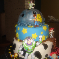 Toy Story toy story b-day cake for a friends son, all the toys were store bought. TFL