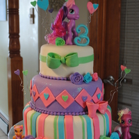 My Lil Pony my lil pony cake for my nieces 3rd bday