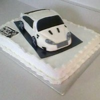 Fondant Car Cake This car was made using the wilton pan, and I just shaped it into the car shape I wanted. I covered the car with fondant. I used a 1/2...