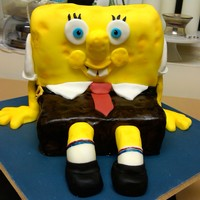 Spongebob Squarepants My attempt at Spongebob, think he turned out ok! :o)