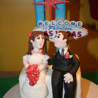 Wedding Cake Topper Las Vegas Wedding Cake Topper