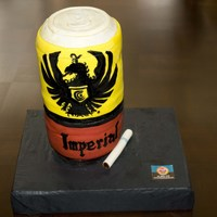 Imperial (Costa Rican Beer) Cake