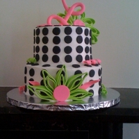 Polka Dot My friend found a picture of a cake here on CC and jokingly asked me to make it for her birthday, So, I did. Thank you to Laborrn2 for...