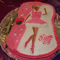 Barbie this was for my 3 year old daughters birthday- she loved it!