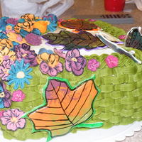 Fall Cake i made this cake for cake class :)