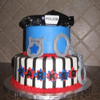 Cops And Robbers Birthday Cake