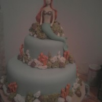 A Sweet Mermaid   my entry at nyc cake convention 2010 1st place