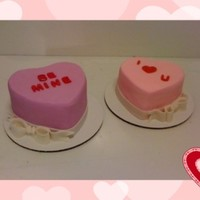 Sweeties Candy Valentines Cakes