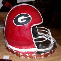 Dawgs Football Helmet