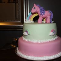 My Little Pony Cake My little pony cake for a 6 year old party