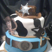 2 Tier Toy Story Kake