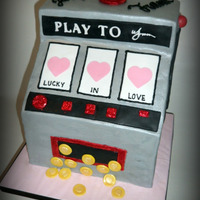 Lucky In Love  I did this super fun slot machine cake for a couple that got married at the Wynn Hotel in Las Vegas a few weeks ago and then had a...