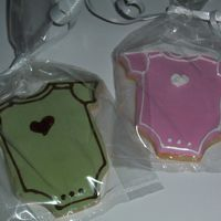 Baby Shower Cookies Shortbread cookies with royal icing decoration