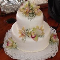 My Third Weddin Cake This cake was ordered by a customer for her wedding