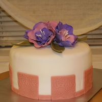 Fantasy Flower Birthday Cake