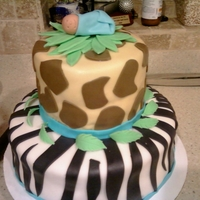 Animal Print Baby Shower