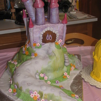 Castle Cake This was kind of my version of Debbie Brown's enchanted castle, however not quite as elegant as hers is, first time trying. I made it...