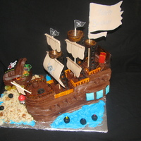 Pirates Away I made this for my son's 6th birthday!!