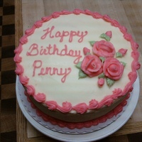 Penny's Birthday Cake Red Velvet Cake with Cream Cheese Icing