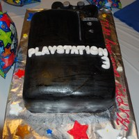 Ps3 play station 3 birthday cake