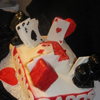 Deck Of Cards A CARD CAKE FOR MOTHER WHO LOVES PLAYIN CARDS