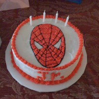 Spiderman my second cake