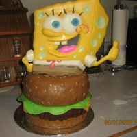 Spongebob The Spongebob portion is made with the Spongebob cake pan and candy melts. The bottom is covered in all fondant. I found this in the latest...