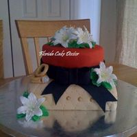 Engagement Cake This was about my 6th cake ever made. I have never been married or engaged but this is what I would like my cake took look like for my...