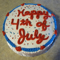 4Th Of July 2010   French vanilla cake with bavarian cream filling.
