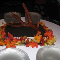 Fondant Deer Antler This was a groom's cake that I did for an avid hunter. The deer antler was sculpted out of tin foil, wrapped in masking tape and then...
