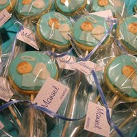 Angels Cookies   butter cookies for a baptism