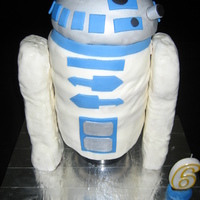 R2D2 Cake My R2D2 cake that I planned for well over a month for my son's 6th birthday party. It definitely was a labor of love, as it was a big...